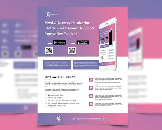 Marketing Flyer Template Free PSD Download - Download PSD