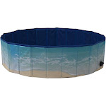 "Midlee Dog Pool - Foldable & Portable Outdoor Bathing Tub (47"" Diameter)"