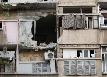 Devastated communities in Syria