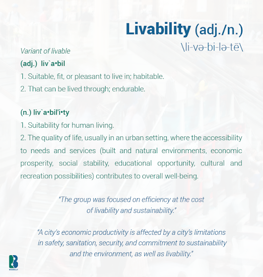 Definition: Livability