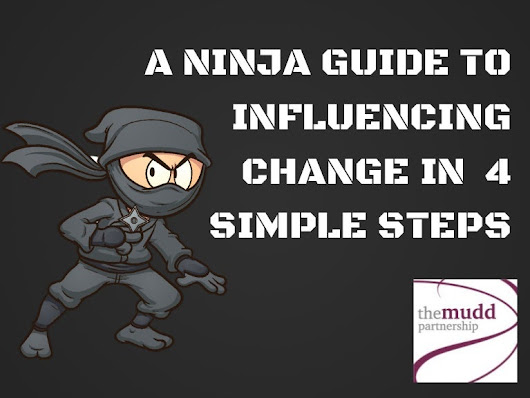 The Mudd Partnership | A Ninja's Guide To Influencing Change
