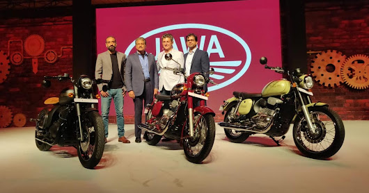 Jawa Motorcycles launch three new bikes in India