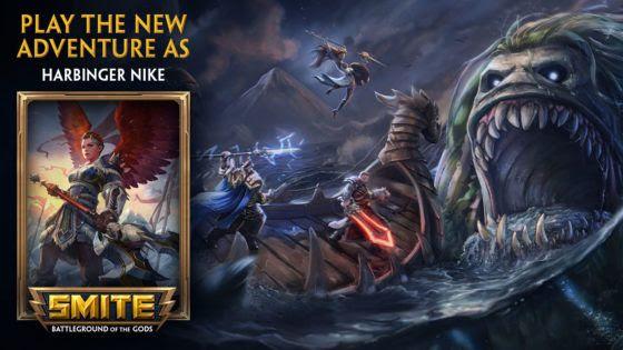 SMITE RPG Adventure Harbinger Nike Giveaway