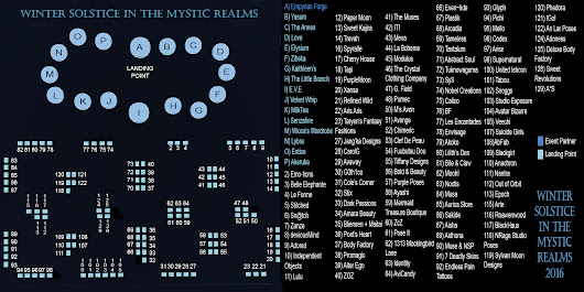 A Winter Solstice in the Mystic Realms: NOW OPEN!