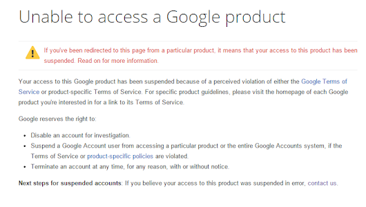 Notification of Google Play Developer Account Suspension | PC Revenge