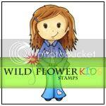 Wild Flower Kids Stamps