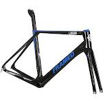 Framed Liege Carbon Frame and Fork Black/Blue 52cm