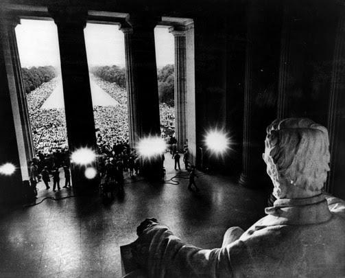 What Lincoln saw. (James K. W. Atherton / UPI)