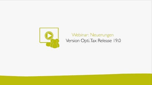 Was ist neu in Opti.Tax 19.0? - hsp Handels-Software-Partner GmbH