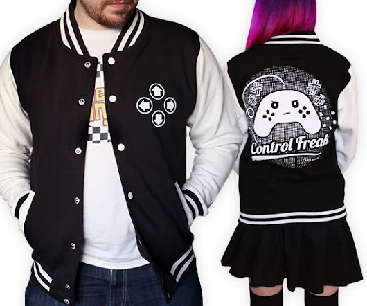 Control Freak Varsity Jacket | Cakes with Faces