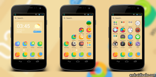 Nature World Android Theme For Hola Launcher