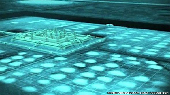 Angkor iluminado