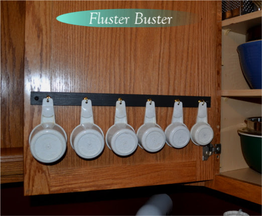 DIY Project for Organizing Measuring Cups | Fluster Buster