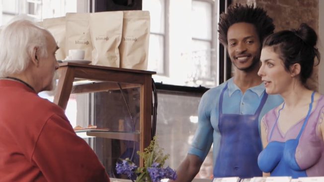 'Nude' Baristas Take Over a Coffee Shop for Nestlé's New Creamer Campaign