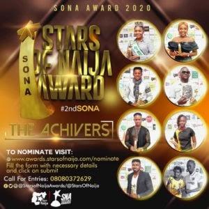Are You Ready For STARS OF NAIJA Awards 2020?