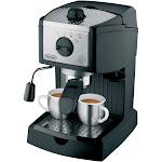 Delonghi High Pressure 15 bar Espresso Maker - Black EC155M