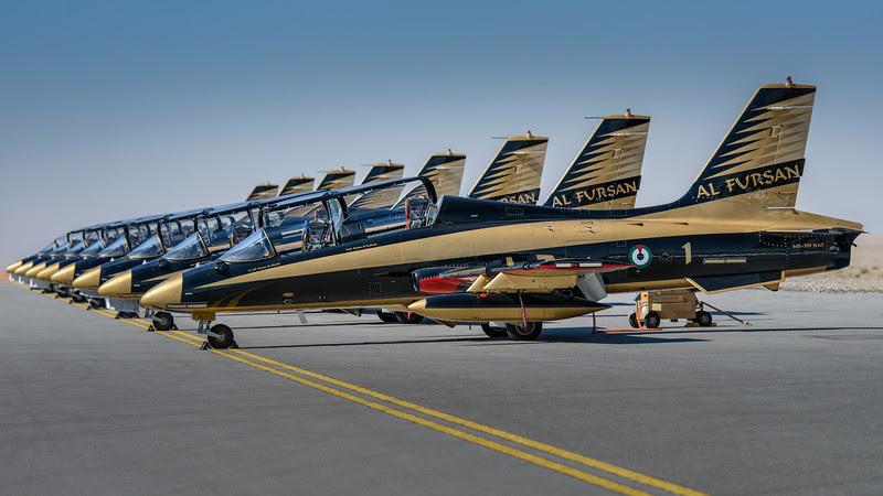 2013 Pic(k) of the week 49: Al Fursan - UAE Jet team