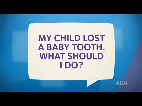 Ask the Dentist by the ADA: 'My Child Lost a Tooth! Now What?'