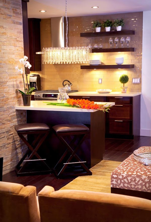 8 Smart Tips To Make Small Kitchen Look Bigger