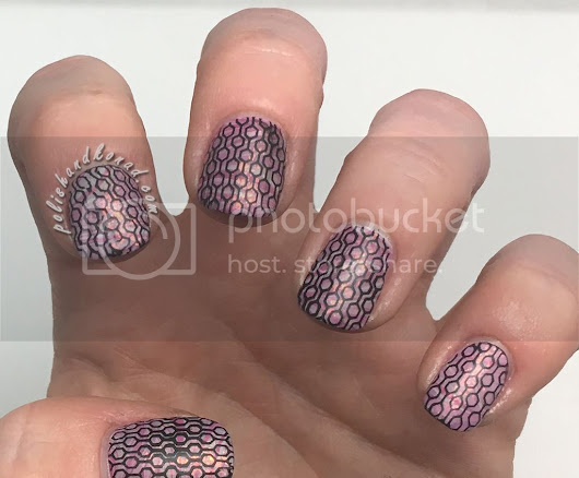 Water Marble with Stamping