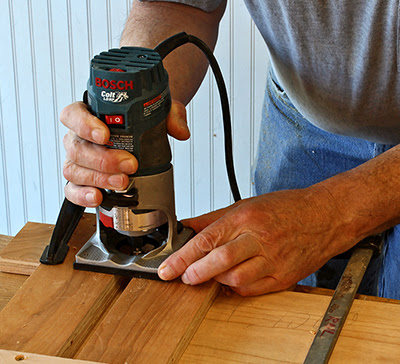Simple and Accurate Dado Router Jig