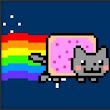 Receita de nerd: Bolo Nyan Cat (Nerd Recipe: Nyan Cat cake - use the translator to translate de restant os this post)