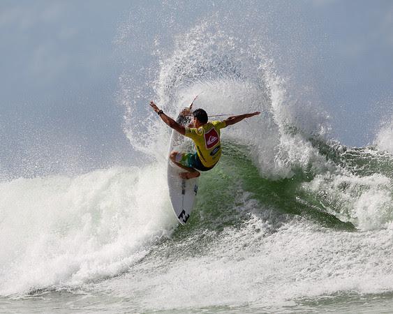 2012 World Surfing Champion Joel Parkinson - 2013 Quiksilver Pro Surfing; Snapper Rocks, Coolangatta, Gold Coast, Queensland, Australia; 11 March 2013. Photos by Des Thureson - disci.smugmug.com.