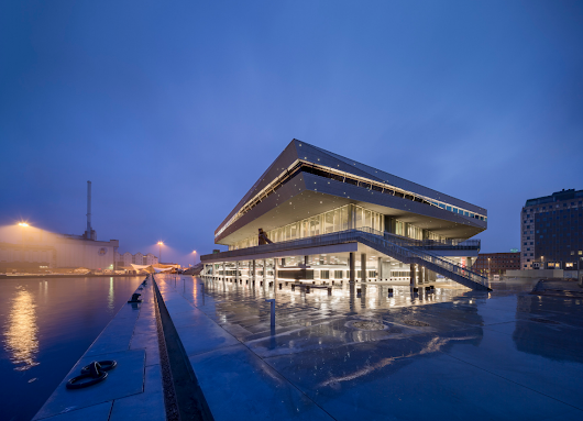 Schmidt Hammer Lassen's Dokk1 Named the Public Library of the Year | Architectural Digest