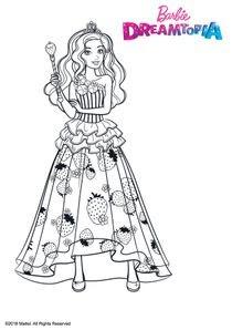 Coloriages Barbie Dreamtopia à Imprimer Coloriages Dessins Animes