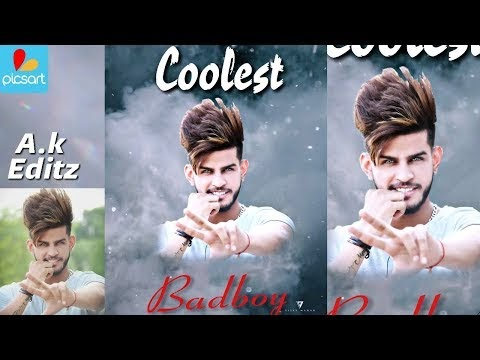 PicsArt Coolest BadBoi Editing, Danish Zehan, Picsart Smoke Editing