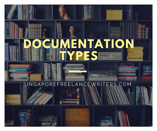 Documentation Types - Technical Writing, Copywriting, and Design services