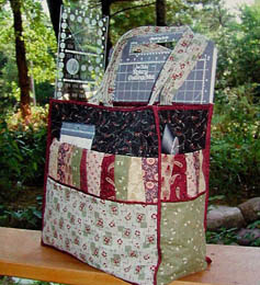 Quilted Tote Bags Quilt Ruler Tote Bag Pattern