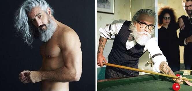 Homens provando que é possível envelhecer bem