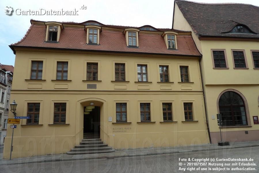 Geburts- und Wohnhaus von Georg Friedrich Händel