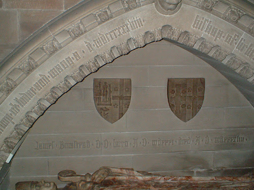 Bishop's monument