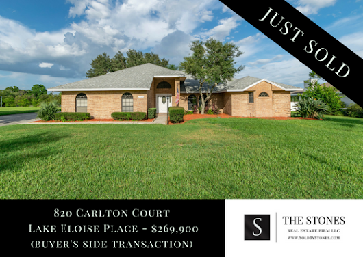 JUST SOLD: 820 Carlton Court, Winter Haven, FL 33884 - The Stones Real Estate Firm