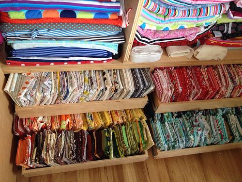 Handy Fat Quarter drawers