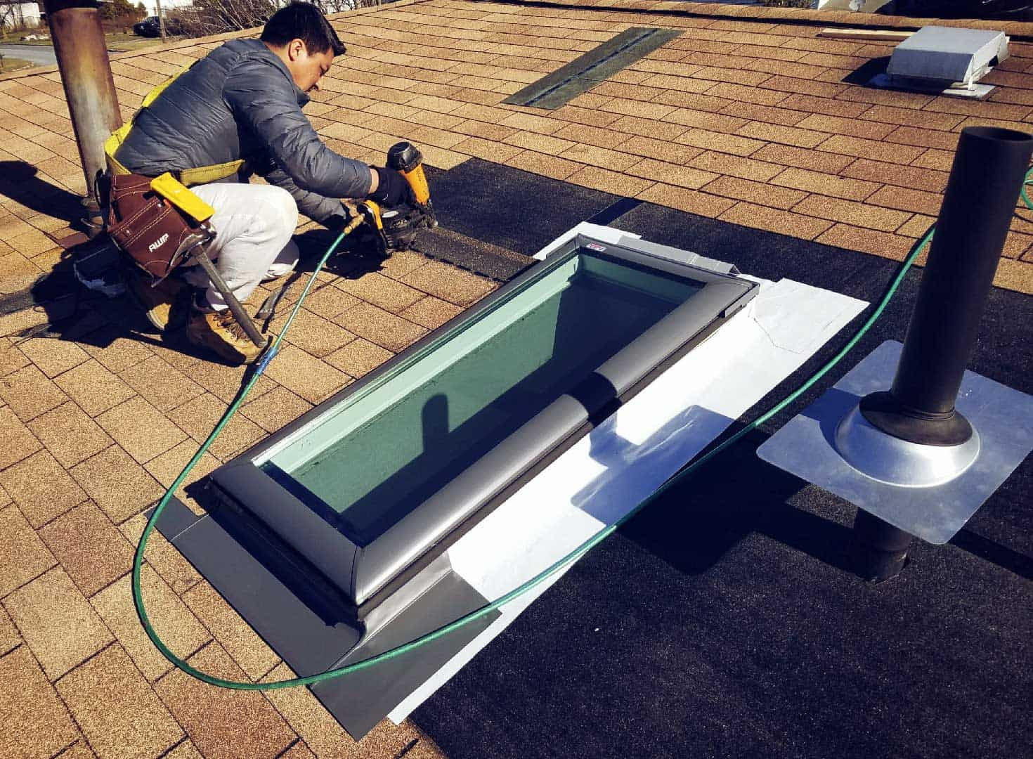 gonzales roofing middletown ny roof repair skylight installation 1