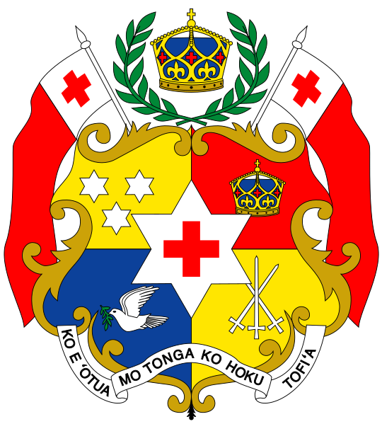 The Coat of Arms of Tonga
