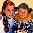Pregnant Coleen poses up with her scarecrow son Kai as the Rooneys enjoy a Wizard of Oz themed Christmas