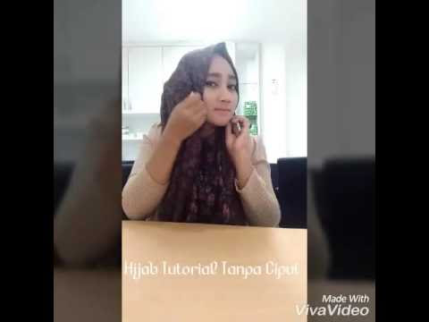 VIDEO : tutorial hijab tanpa ciput (anti gerah) by anggievendhy - hijab tanpa ciputcocok buat kamu yang sering merasa agak gerah kalau harus pakehijab tanpa ciputcocok buat kamu yang sering merasa agak gerah kalau harus pakeciputatau anak ...