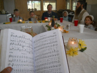 Singing a Psalm
