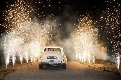 Ignite Your Night With Sparklers At Your Wedding