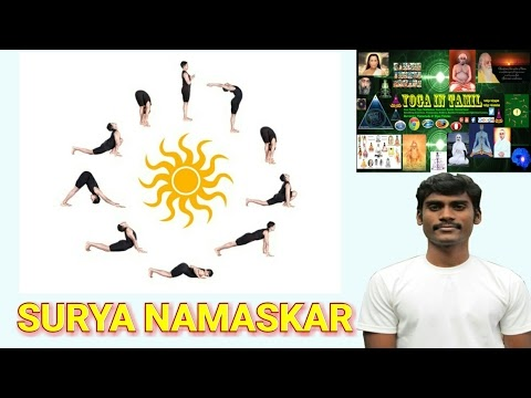 learn stepstep surya namaskar 12 yoga poses  yoga
