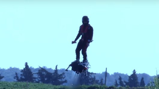 Flyboard air: The New Innovation in Hover Technology - A.I. Clarke