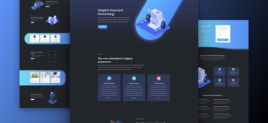 Super Stylish And Unique Divi Layout Pack For Digital Payments Websites | SEO Company