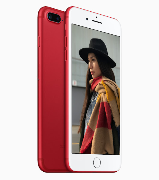 (PRODUCT)RED Special Edition iPhone 7 and iPhone 7 Plus - In Easy Steps