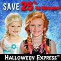 Save 25% at Halloween Express