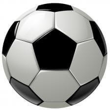 hexagons and pentagons in a soccer ball