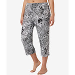 Ellen Tracy Yours to Love Cropped Pant, Paisley (8715331) 1X